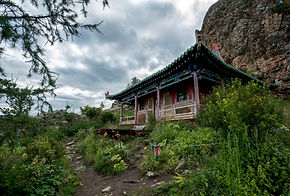 Tuvkhun Monastery Orkhon Mongolia