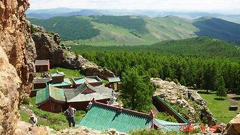 Monastère Tuvkhun Orkhon Mongolie