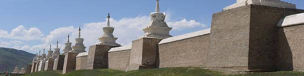 Karakorum Kharkhorin Orkhon Erdene Zuu stupas Mongolia