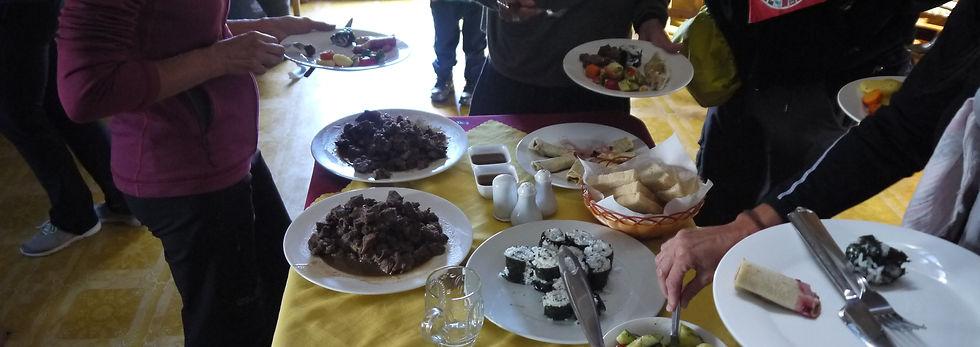 Restaurant Orkhon Camp Mongolia