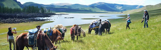 Randonnée Cheval Naiman Nuur Mongolie Orkhon