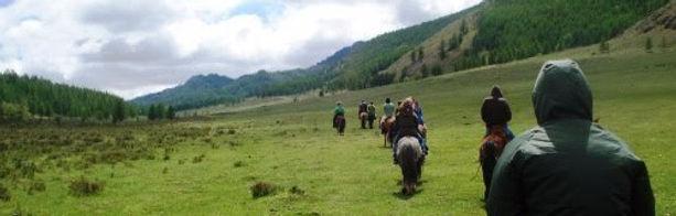 Randonnée cheval Mongolie