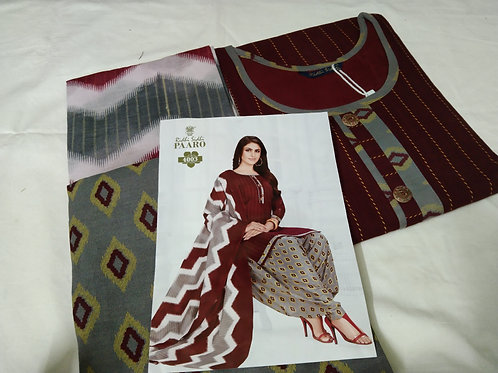 Branded Cotton Patiyala Suits With Lining - XXL