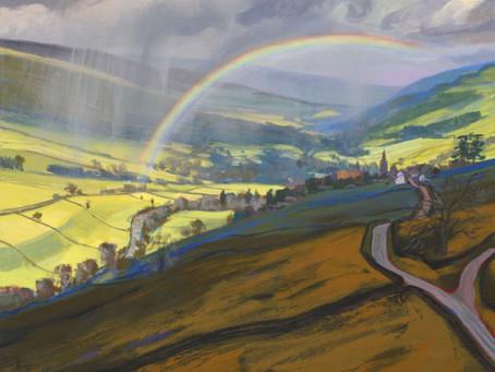 So where did the rainbow end?