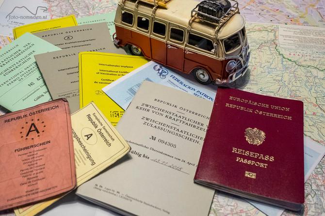 Reisedokumente – eine notwendige Bürokratie