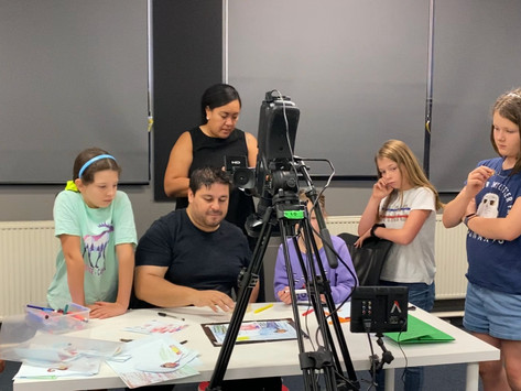 Bushfires and Environment on the Minds of Junior Filmmakers
