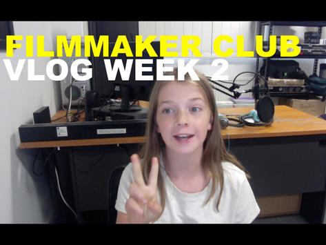 Filmmaker Club Week 2 -Ava writes her short film's story