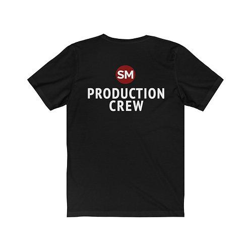 Unisex 'PRODUCTION CREW' Jersey Short Sleeve T Shirt