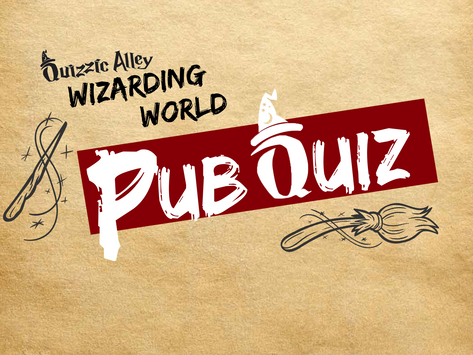 Live Stream Consultation for Harry Potter Pub Quiz