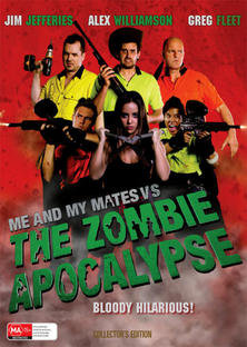 LARGE FILM POSTER - Me and My Mates vs the Zombie Apocalypse