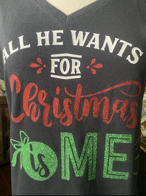 Ladies' Christmas funny t-shirts
