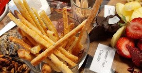Make your own cheese straws
