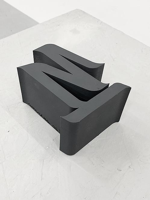 "[2020] Escultura ""estudo volumétrico 03, 2020"""