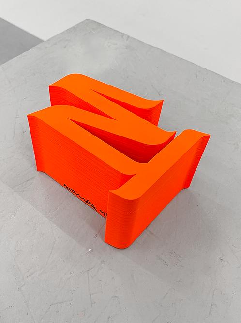 "[2020] Escultura ""estudo volumétrico 04, 2020"""