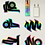 Thumbnail: [2019] Holographic Sticker Pack - studio|sanches