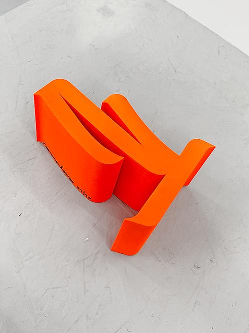 "[2020] Escultura ""estudo volumétrico 01, 2020"""