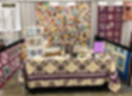 Quilting Lessons booth - Sarah Curtis.jp