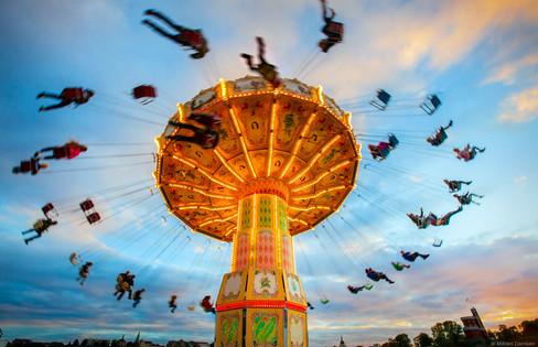 Stockholm/Sweden - Grona Lund Amusement Park