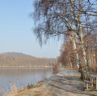 Le Parc des Bruyères en hiver