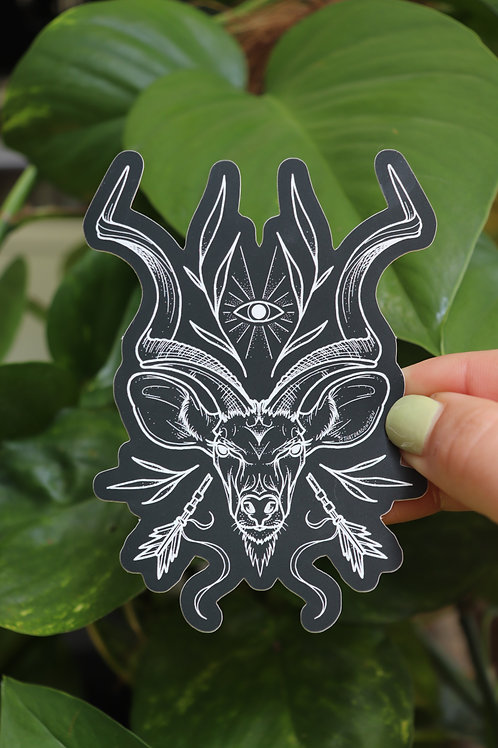 Sacred Kudu Sticker