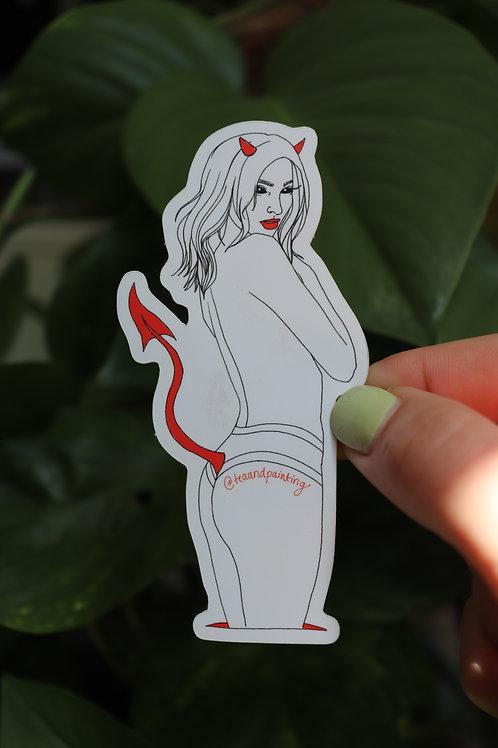 Devilish Sticker