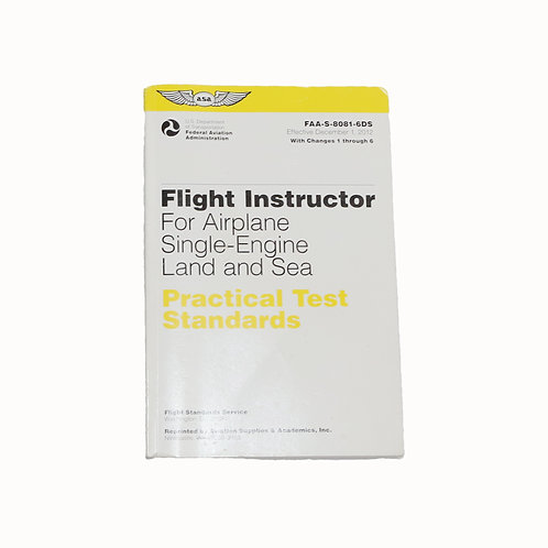 Flight Instructor for airplane