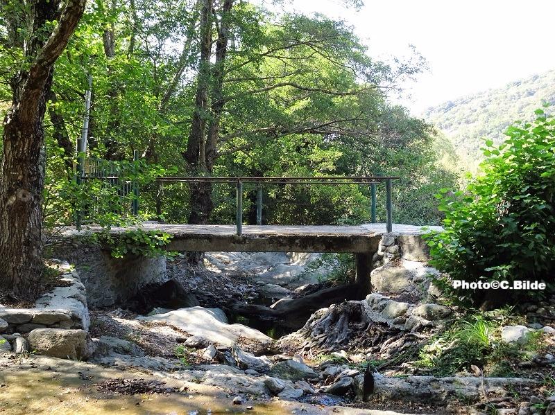 Pont ruisseau Malière