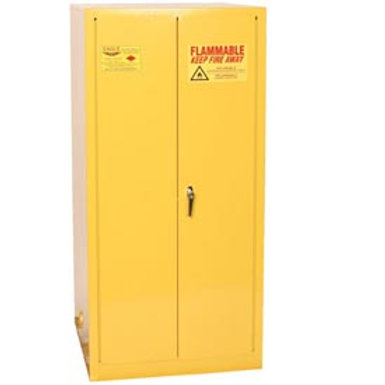 Yellow Fireproof Cabinet