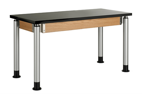 "24""W 60""L Adjustable Height Lab Table"