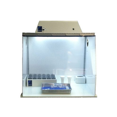 Grossing Station with Fume Hood