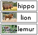 Screen Shot African Animal Word Cards.pn