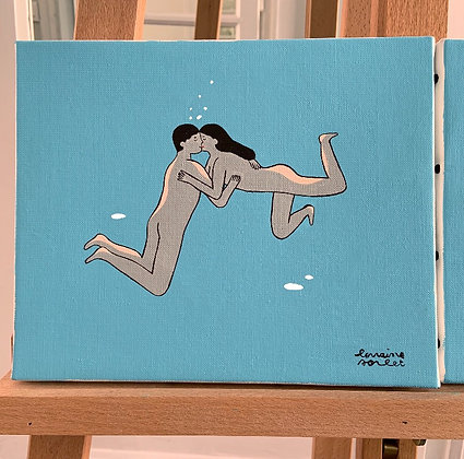 « Swim of love » no 3
