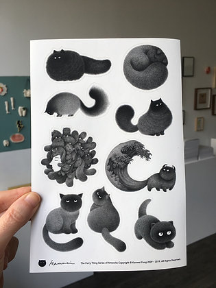 Kitty stickers / Set #3