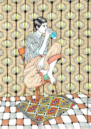 GIRL DRINKING 3