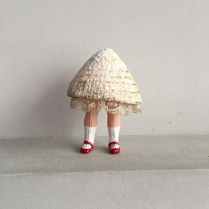 Miss bernique à soquettes rouges
