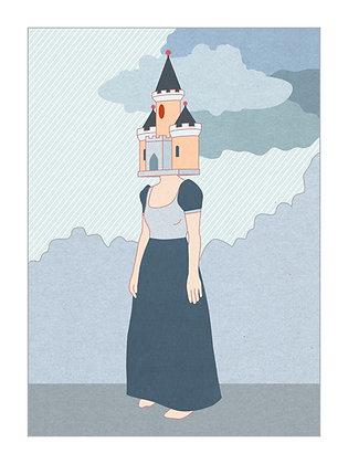 Femme château