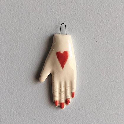 Petite main cœur