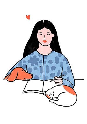 Work & pets - Lorraine Sorlet