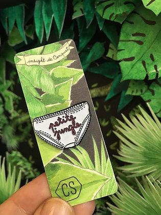 "Pin's culotte ""petite jungle"" - Insight de Conquet"