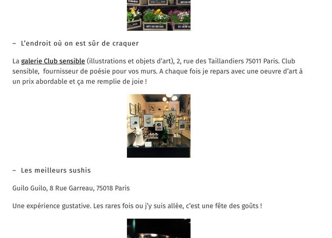 L'endroit où on est sûr de craquer - Lifestyle Paris