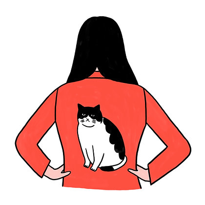 Cat Jacket - Lorraine Sorlet