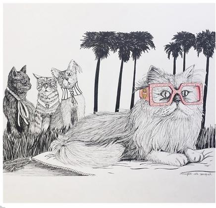 Les chattes de la mode - Insight de Conquet