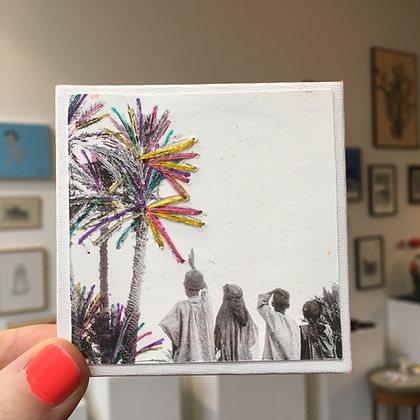 Pop palm trees