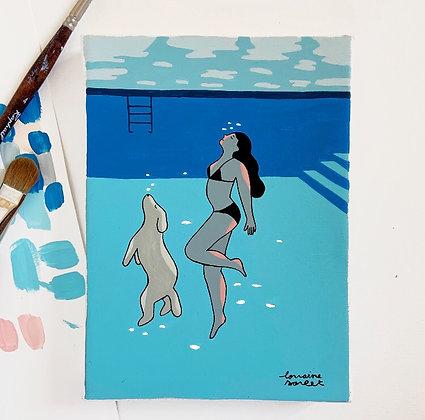«Pool lovers»