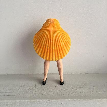 Miss coquillage orange