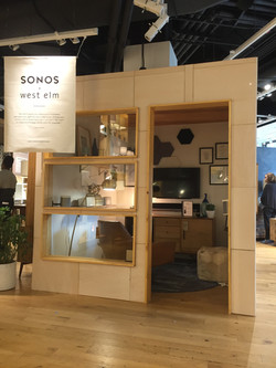 Sales Floor Sound Booth