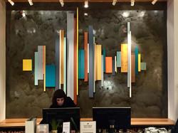 West Elm Reception Area Art