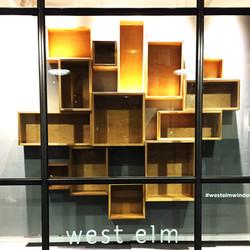 West Elm Window Display