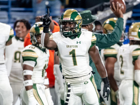 Grayson overpowers Collins Hill to win 7A State Championship