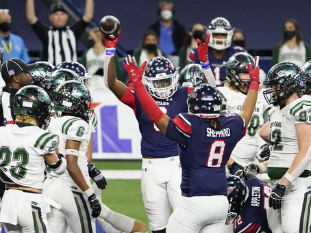 Denton Ryan caps off season with a prevailing 5A D1 state championship win over Cedar Park